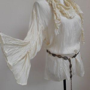 Women's 100% silk blouse Size S